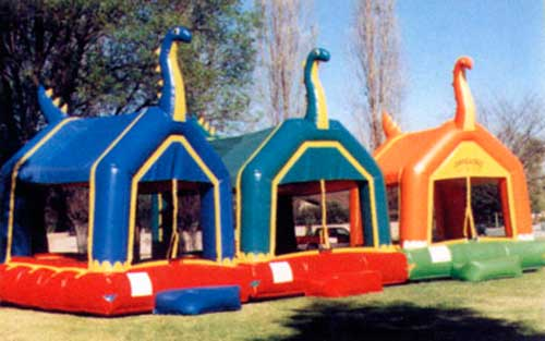 Dinosaur Bounce Houses
