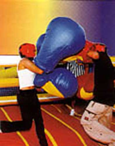 Giant Padded Boxing Gloves