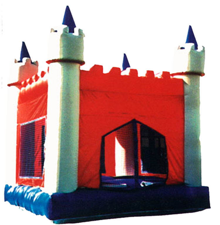 Our Red Castle Bounce-House is perfect for your children