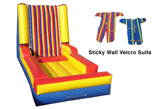 Sticky Wall - Comes with four suits