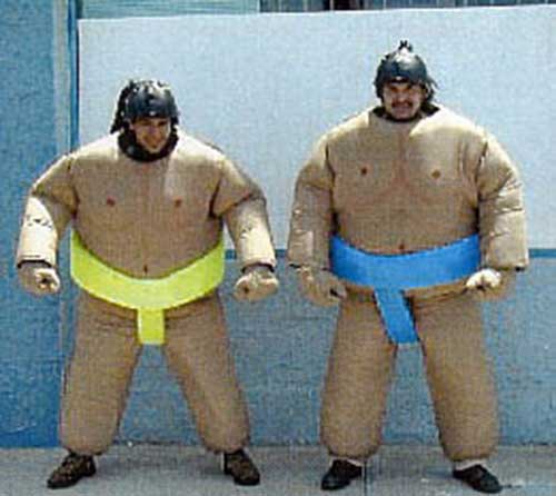 Sumo Wrestling Suite, highly padded