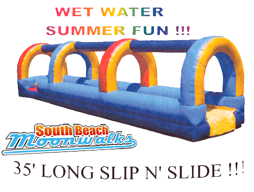 Wet Water Slip 'n Slide
